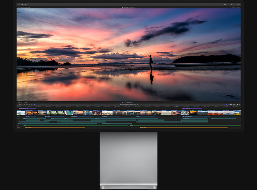 Final Cut on the Apple Pro Display XDR