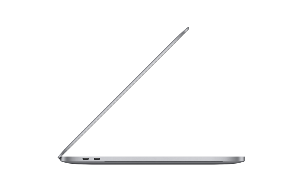 MacBook Pro 16-inch Side View