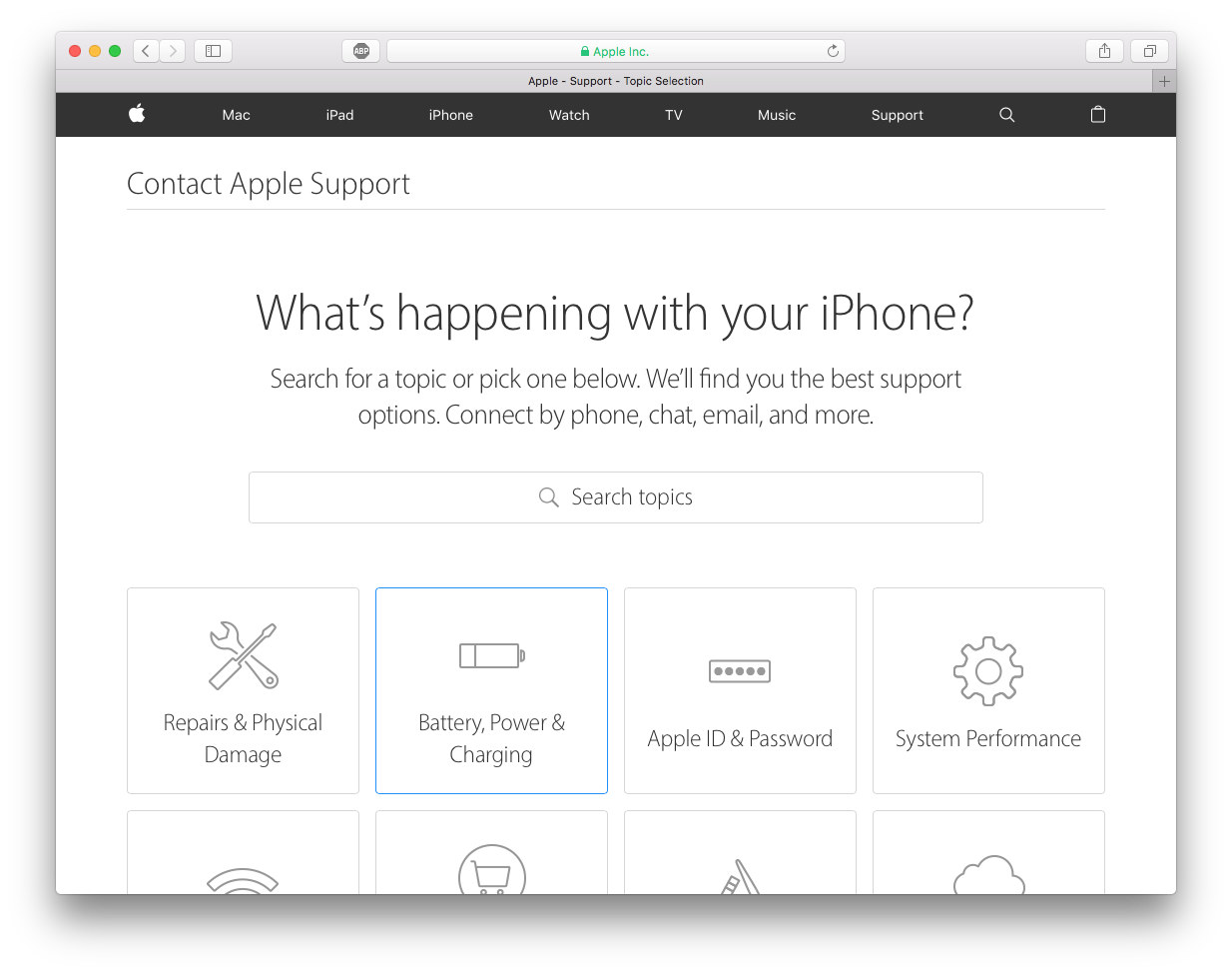 apple appointment for battery replacement