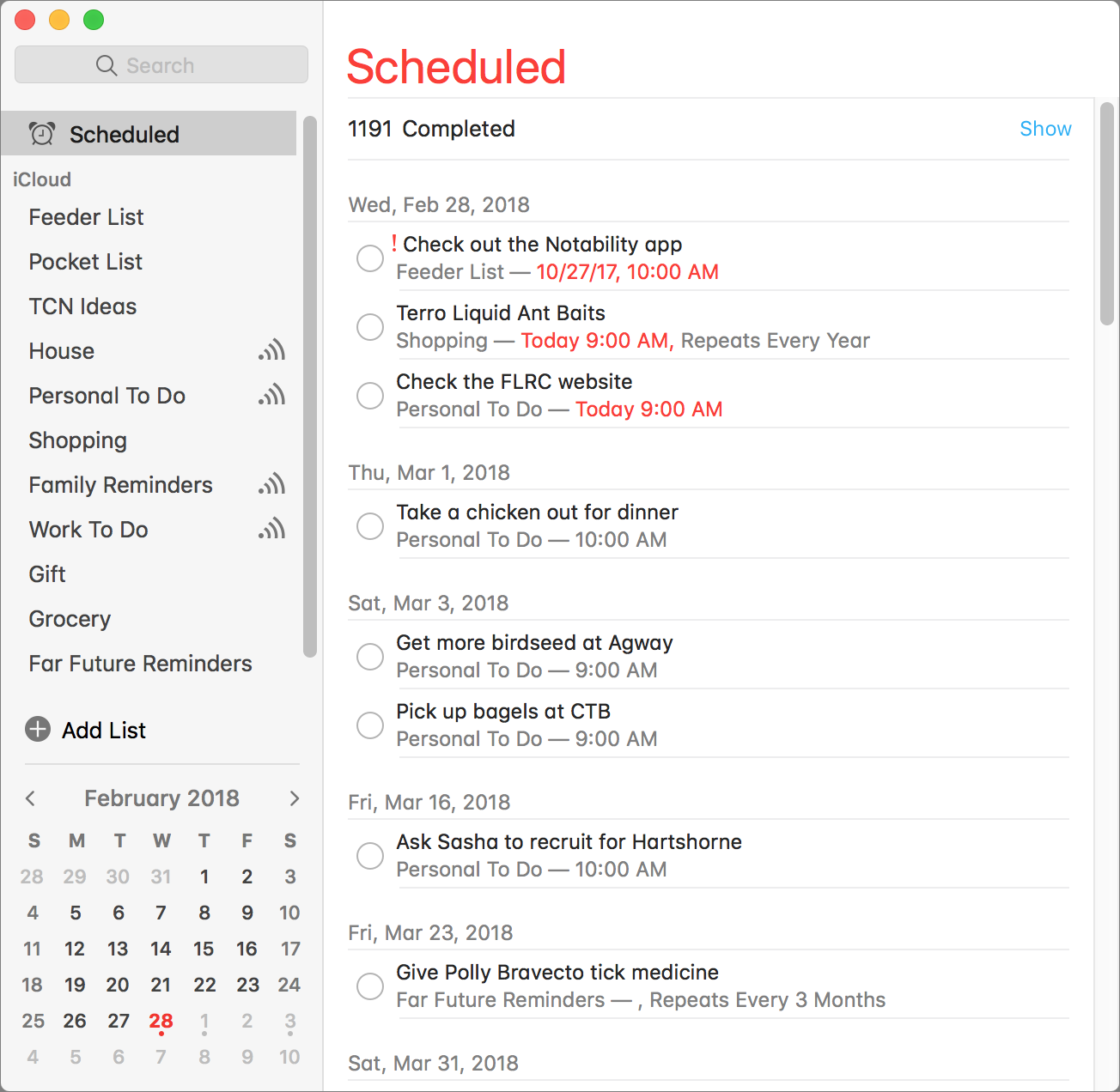 Apple's Mac Reminders App Is More Capable Than You May