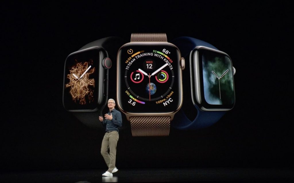 Apple Watch Series 4 Tim Cook 1024x640