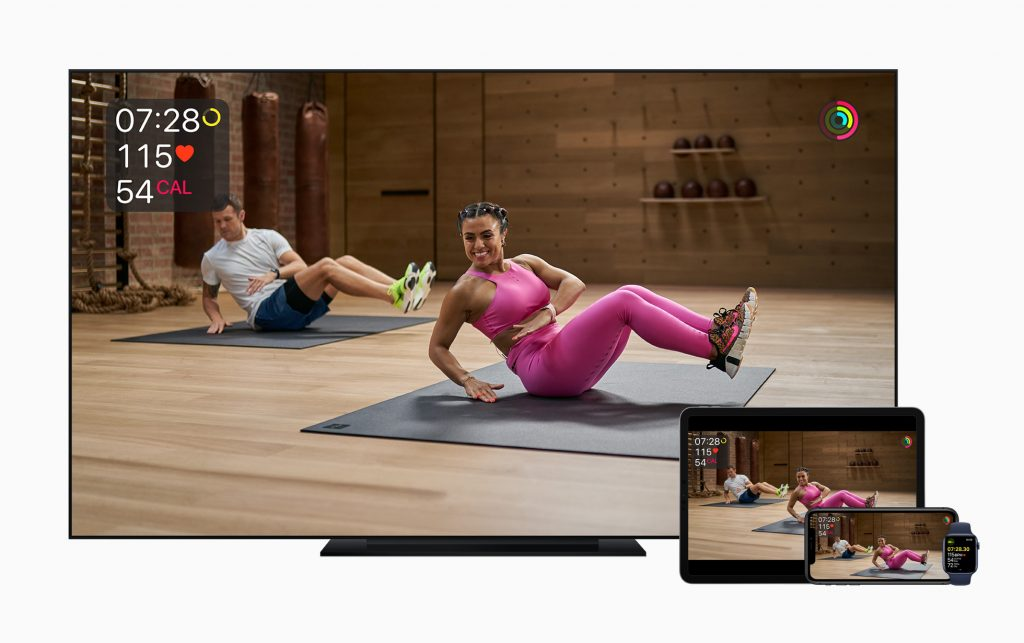 Apple Fitness plus 1024x643