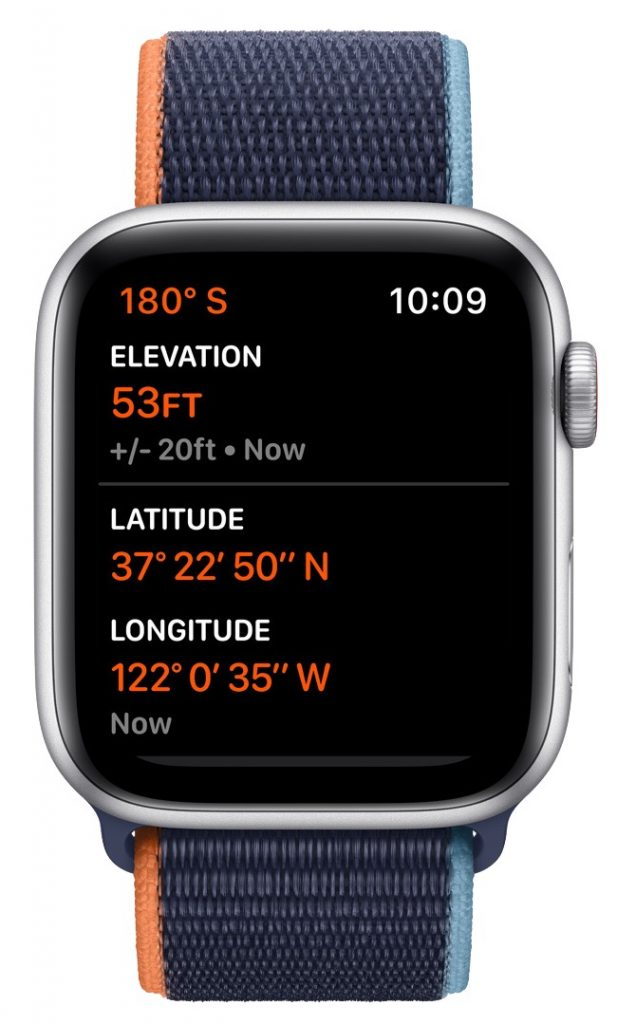 Apple Watch SE altimeter 617x1024