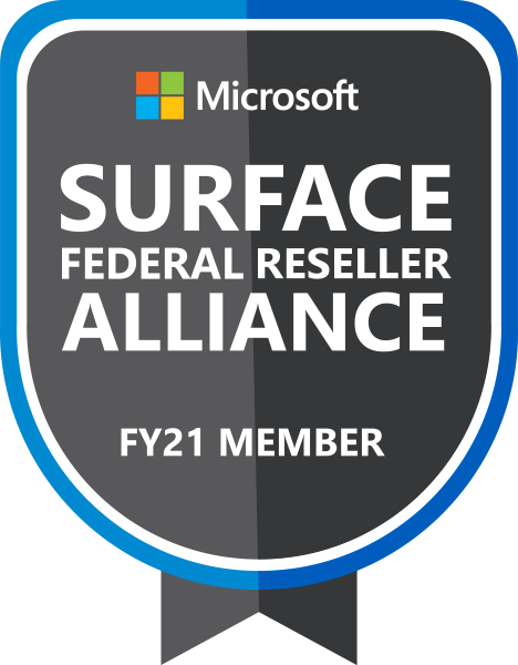 Microsoft Surface Federal Reseller Alliance FY21 Member