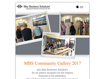 MBS Community Gallery Reception