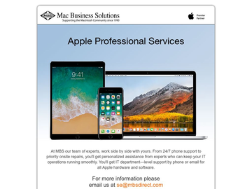Apple-Certified IT Professional Services for Business