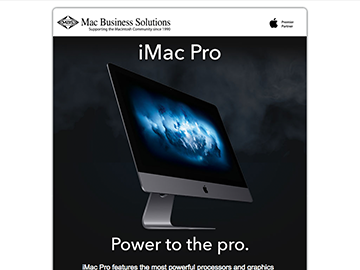 Apple iMac Pro is now available at MBS!