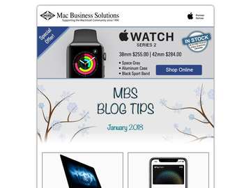 MBS Blog Tips: January 2018 Edition