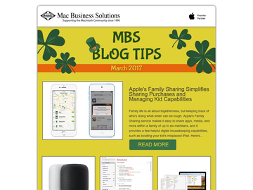 MBS Blog Tips- March 2018 Edition