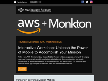 AWS Workshop for Building Secure Compliant Mobile Apps in Government