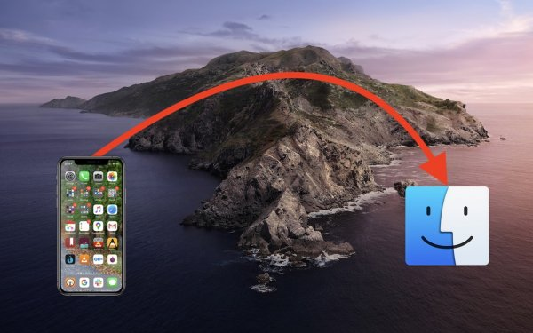 How to Back Up an iPhone or iPad with Your Mac Running Catalina