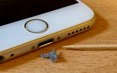 iPhone Not Charging Reliably? Clean Its Lightning Port with a Toothpick