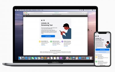 Apple Releases COVID-19 Screening Tool App and Web Site